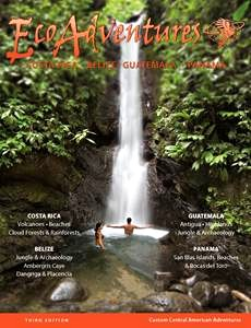 Click on this brochure to discover the wonderful Central American vacations to Costa Rica, Guatemala, Belize and Panama that EcoAdventures has to offer!