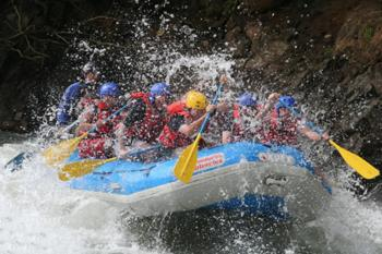 River rafting on the Pacuare River, Costa Rica