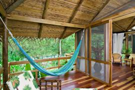 The spacious River View Suite includes a private terrace, Pacuare Lodge, Pacuare River, Costa Rica