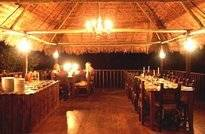 Dining Room by Lantern Light, Tambopata Research Center
