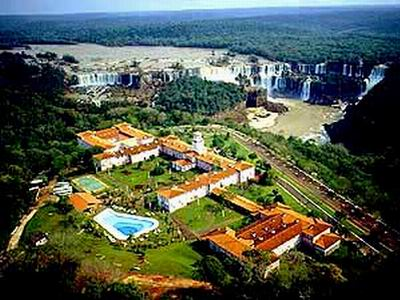 Stay within walking distance of the spectacular Iguassu Falls at the Belmond Das Cataratas Hotel, Iguassu Falls, Brazil