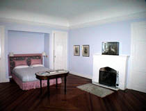 Double room with fireplace, Estancia Villa Maria