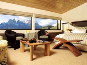 Enjoy one of Explora Hotel Salto Chico's many rooms with breathtaking views of the Towers of Paine!