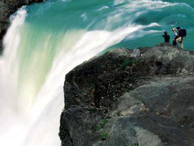 Get up close to the nearby waterfall while staying at Explora Hotel Salto Chico.