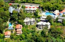 Villas Si Como No Hotel is surrounded by ten protected acres of lush tropical rainforest.